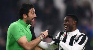 Buffon Asamoah Juventus