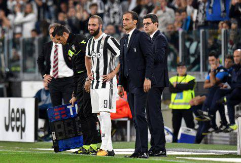 Higuain diffidato Juve-Napoli Crotone-Juve Fantacalcio