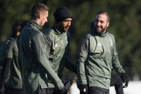 Juventus allenamento