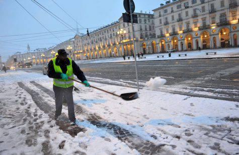 Meteo Torino 1 marzo, neve