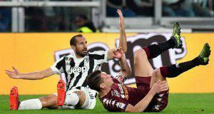 Torino-Juventus Chiellini