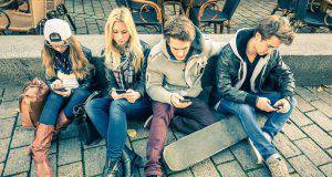 Gli smartphone e i giovani