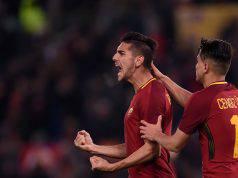 Pellegrini Roma Sassuolo formazioni ufficiali