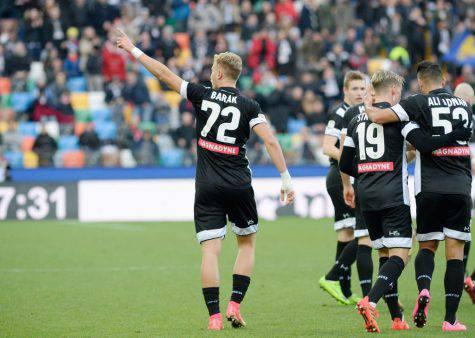 Calciomercato Juve Barak Mandragora Udinese
