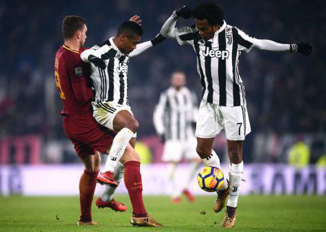 Juventus allenamento Cuadrado