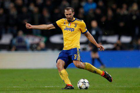 Chiellini difensore Juventus SPAL-Juve infortunio