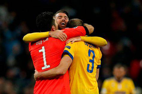Buffon Barzagli Chiellini © Getty Images