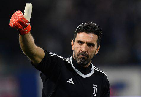Portiere Juventus Buffon SPAL-Juve