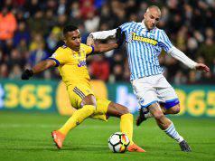 Alex Sandro Difensore Juventus SPAL-Juve