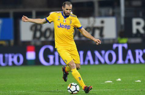 Juventus in ansia per Chiellini e Bernardeschi