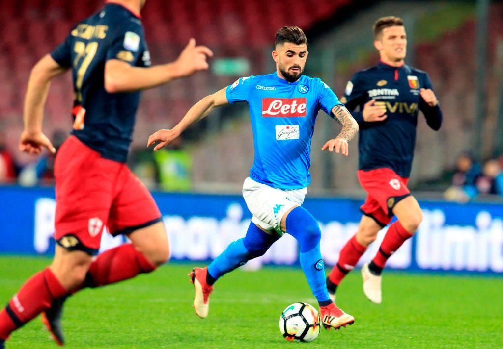 Hysaj Napoli Genoa