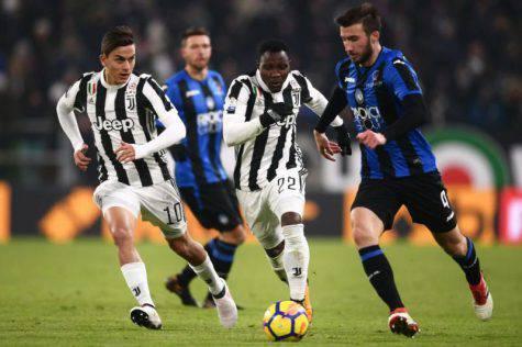 Juve-Atalanta: dove vedere in tv e streaming il recupero di Serie A