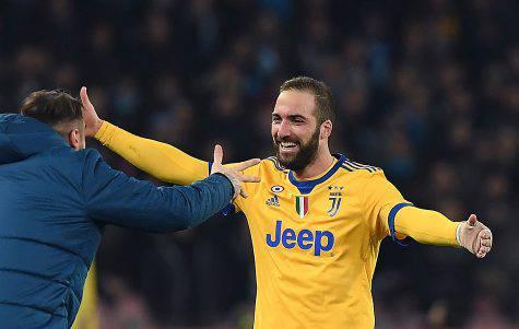 Juventus Napoli Higuain
