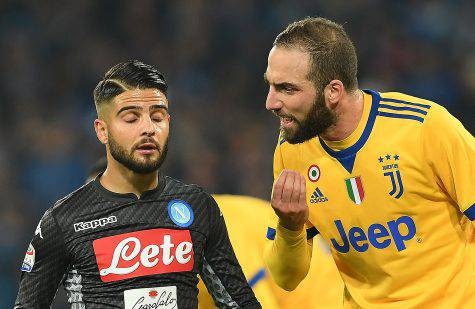 Juventus Napoli Higuain Insigne