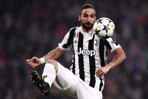 Higuain Attaccante Juventus Juve-Real