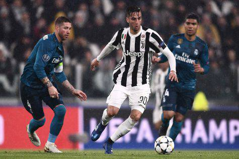 Centrocampista Juventus Bentancur Juve-Real
