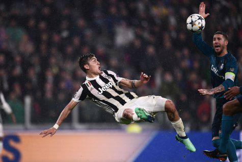 Dybala Attaccante Juventus Juve-Real