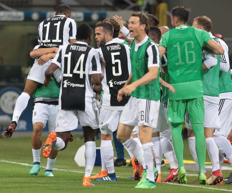 Inter-Juve, gol bianconeri