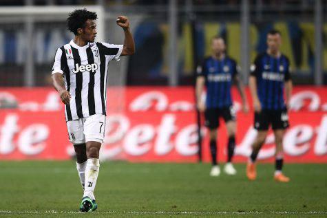 Juventus, Cuadrado stuzzica il Napoli: