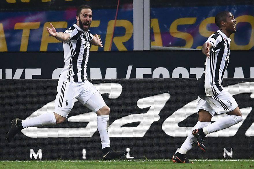 Inter-Juve, gol Higuain