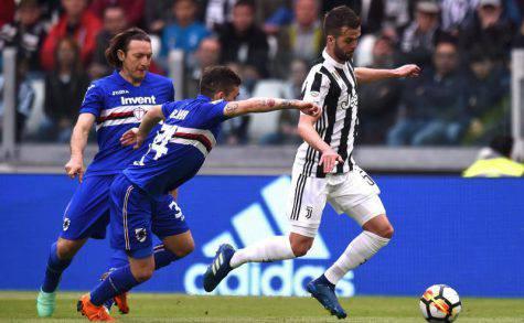 Infortunio Pjanic Juve-Napoli
