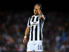 Paulo Dybala Juve-Napoli panchina