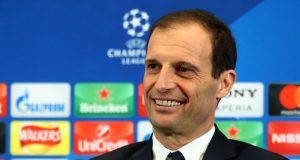 Real-Juve, Allegri in conferenza