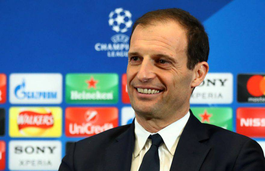 Real Madrid Juve, Allegri in conferenza