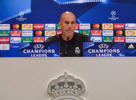 Zidane Real Juve conferenza