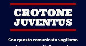 comunicato tifosi Crotone
