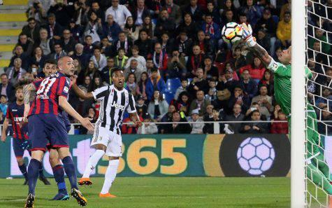 Crotone-Juventus Voti Pagelle tabellino Alex Sandro