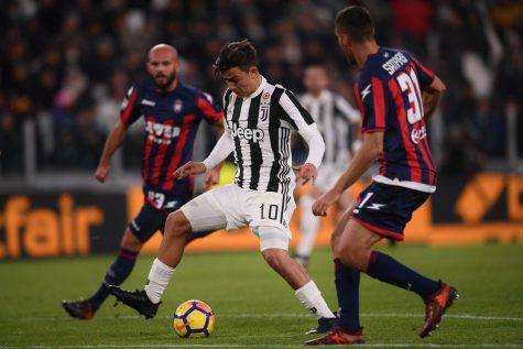 Crotone-Juventus Voti Pagelle Tabellino Primo Tempo