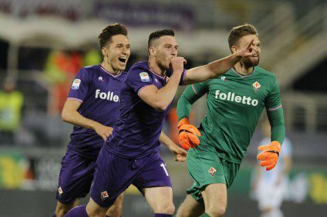 Calciomercato Juventus Milenkovic Veretout Fiorentina