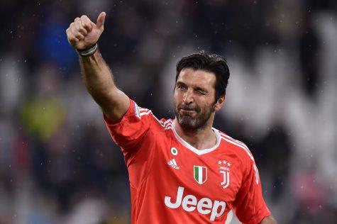 Buffon Juventus Addio