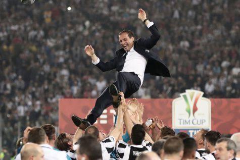 Coppa Italia, gioia Allegri:
