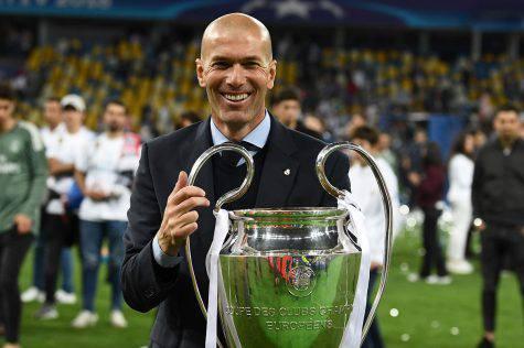 Zidane Calciomercato Juventus Allegri Real Madrid