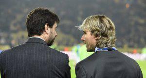 Juventus Champions League Agnelli Nedved