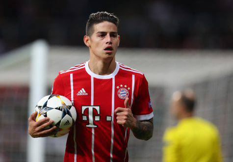 Juventus su James Rodriguez