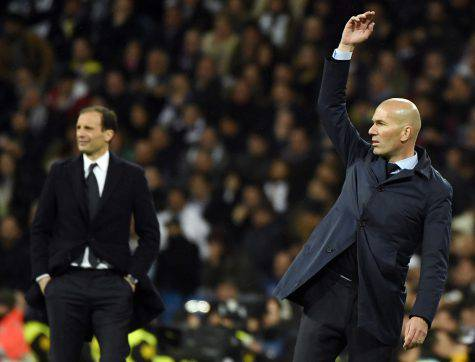 Zidane Allegri Juventus Real Madrid