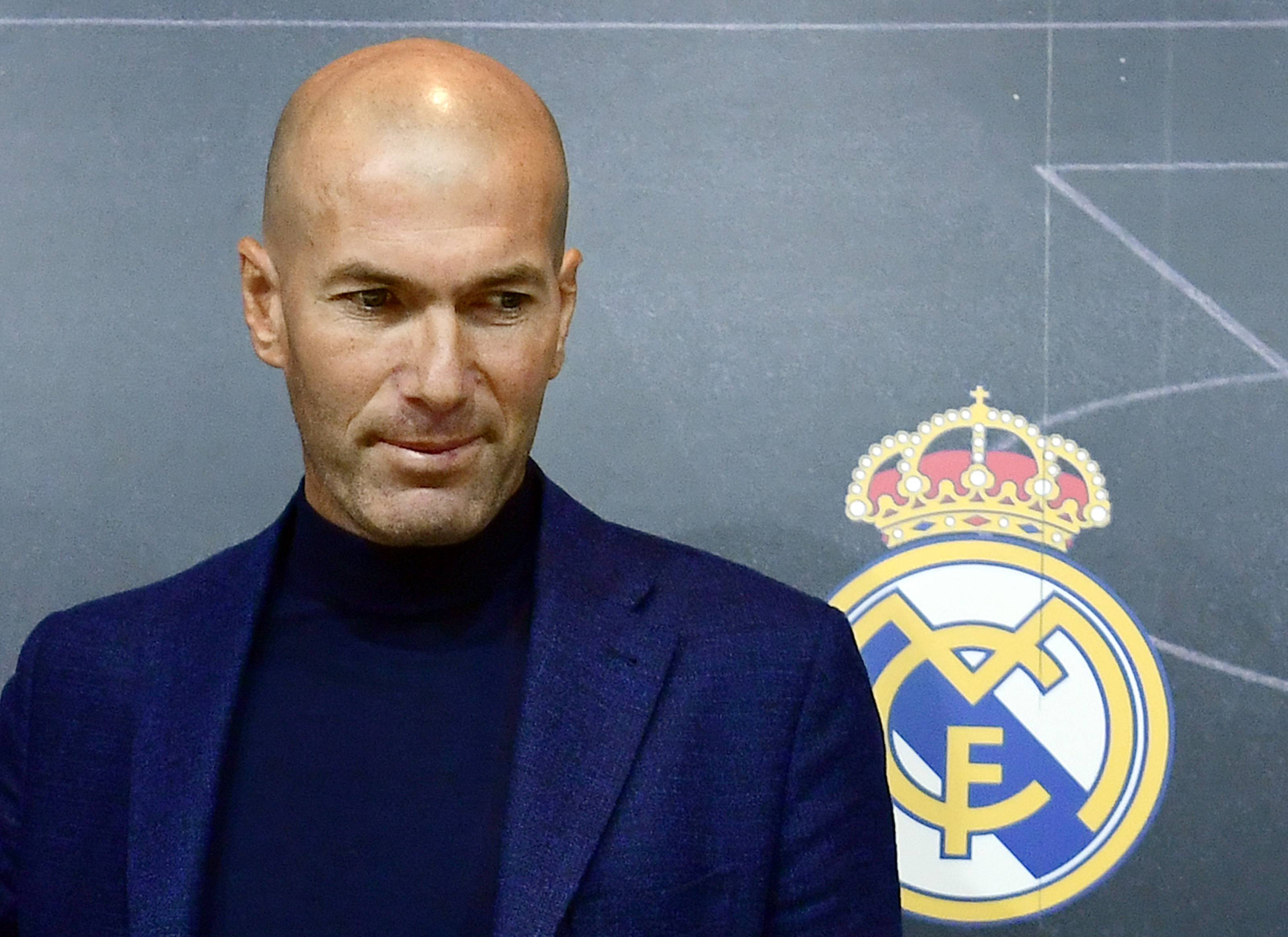 Zidane Real Madrid Juventus Allegri
