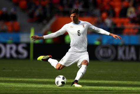 Cavani, doppietta da sogno: eurogol su assist di Bentancur
