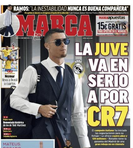 Cristiano Ronaldo alla Juventus? Arriva la conferma dalla Spagna