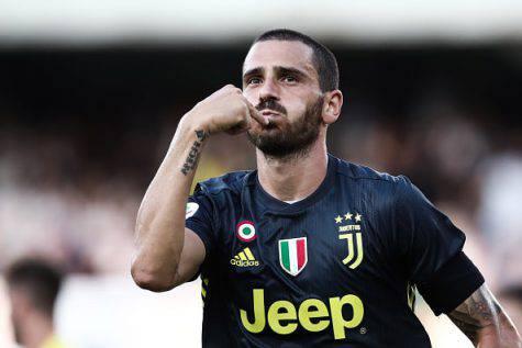 Maglia Bonucci nel museo, Juventus news: Leo perdonato!