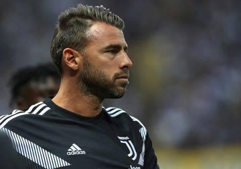 Infortunio Barzagli, salta il Sassuolo: escluse lesioni gravi