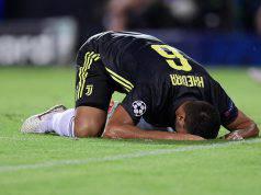 Juventus infortunio Khedira Allegri