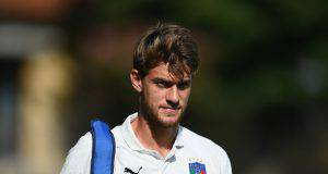 Portogallo-Italia Rugani tribuna Chiellini Bonucci