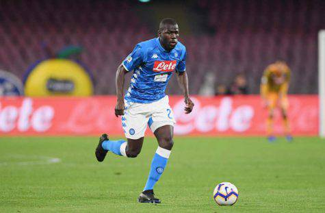 Bologna Napoli Koulibaly, Streaming
