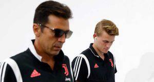 Gigi Buffon e Matthijs de Ligt