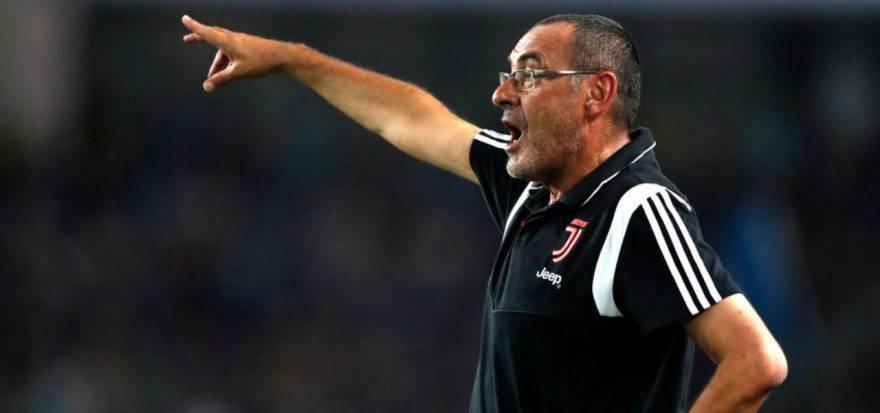 Juventus Bayer Leverkusen sarri higuain
