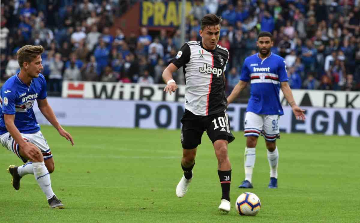 Juventus, Sarri parla del futuro di Dybala